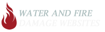 Water and Fire Damage Websites Logo